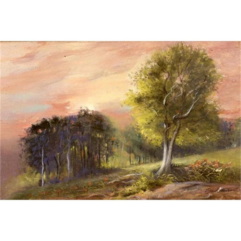 Early Sunrise, Stowe by Frank Mason