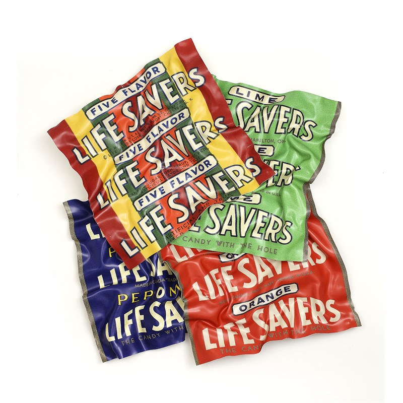 Five Flavor Life Savers with Three More