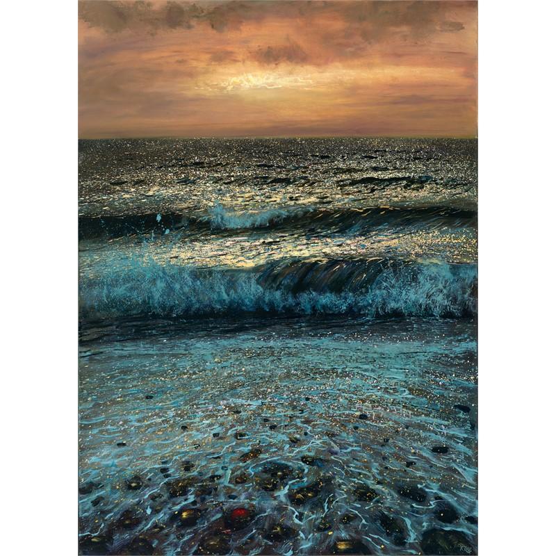 Golden Evening Beach
