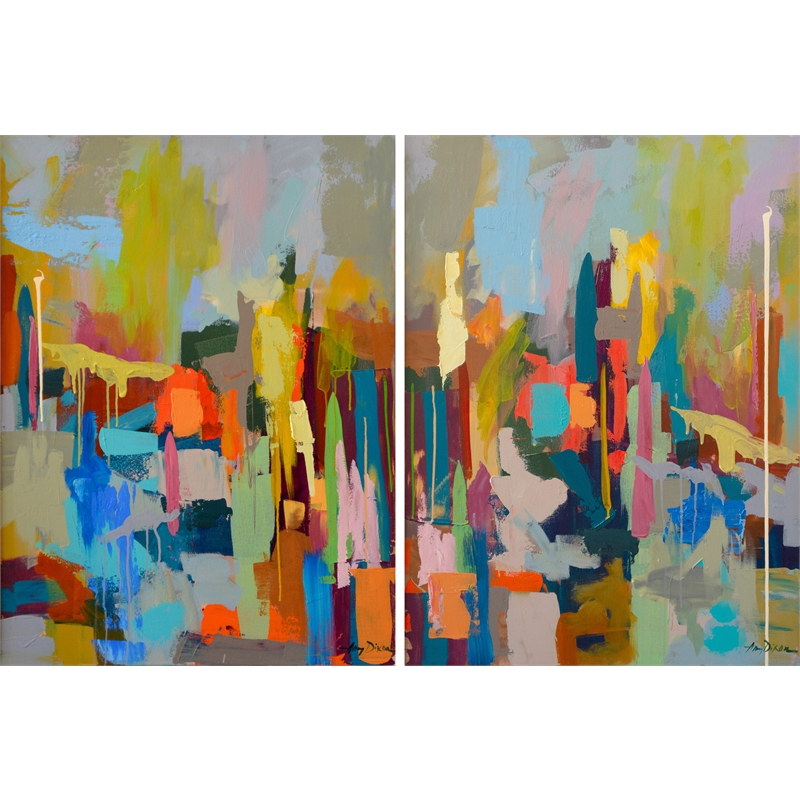Out West (Diptych)