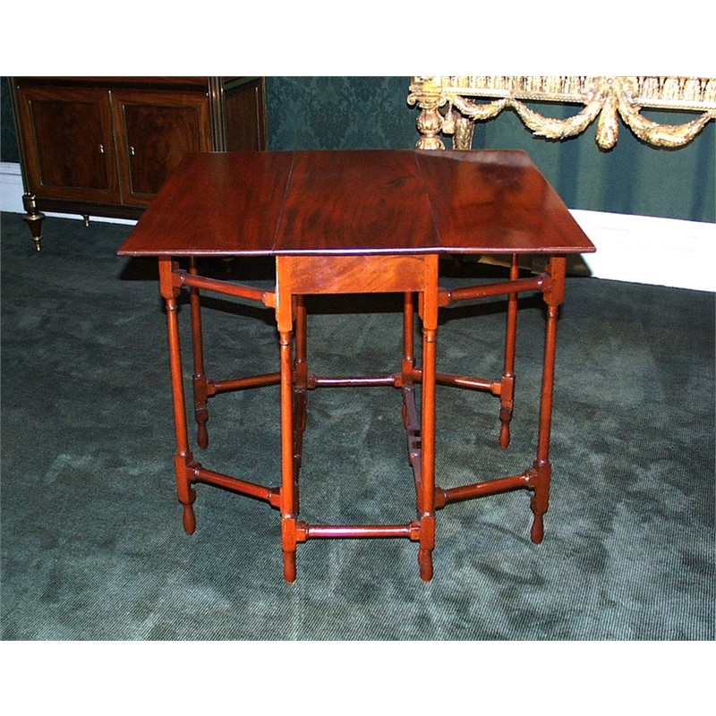 GATE LEG LARGE DIRECTOIRE TABLE , French, circa 1800