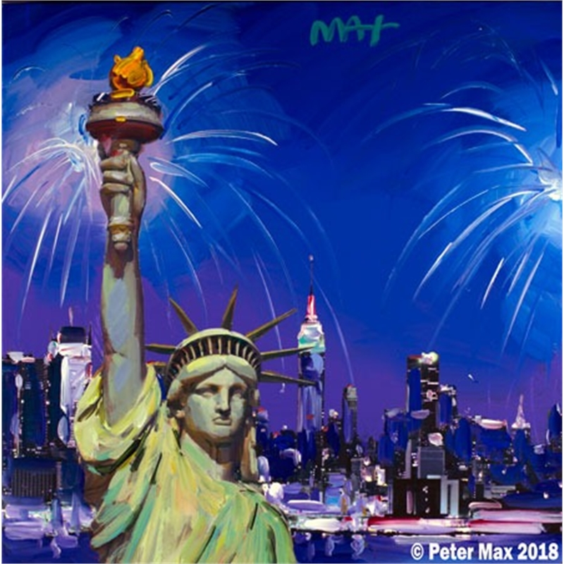 STATUE OF LIBERTY- FIREWORKS