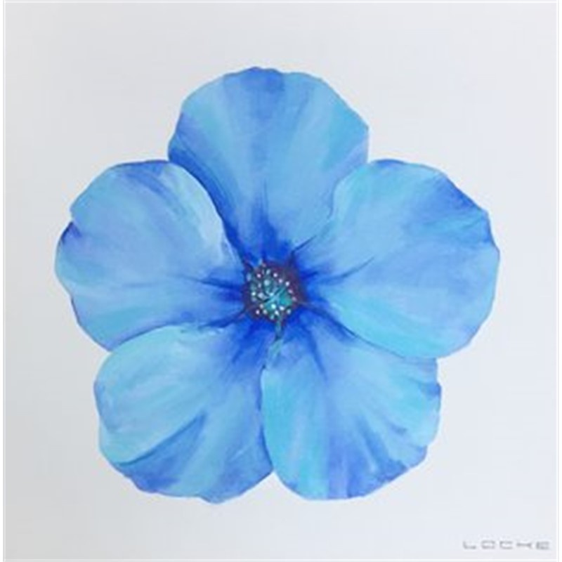 Blue 2 Flower, 2018