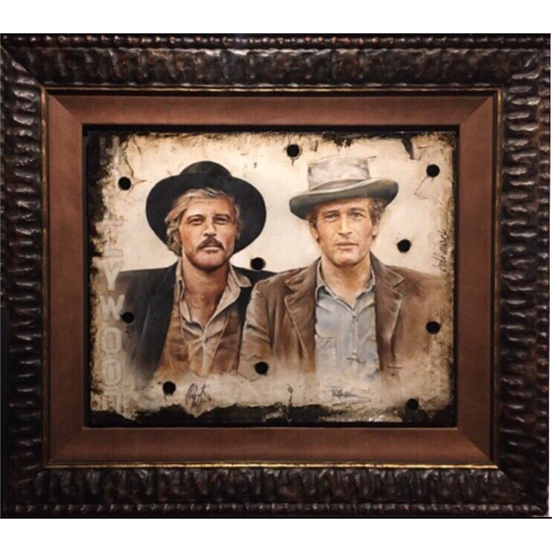 """Butch & The Kid"" Paul Newman & Robert Redford"