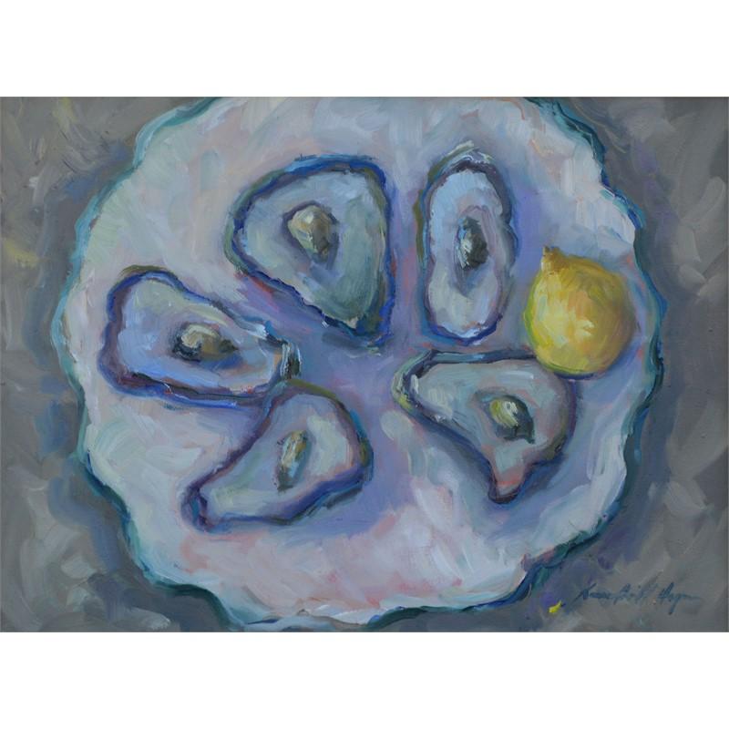 Five Oysters & Lemon