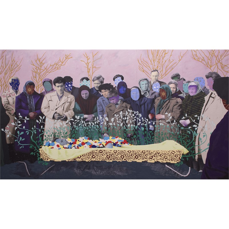 Untitled (A Bulgarian Funeral) by Daisy Patton