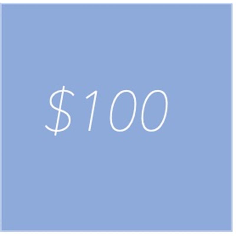 gift credit 100