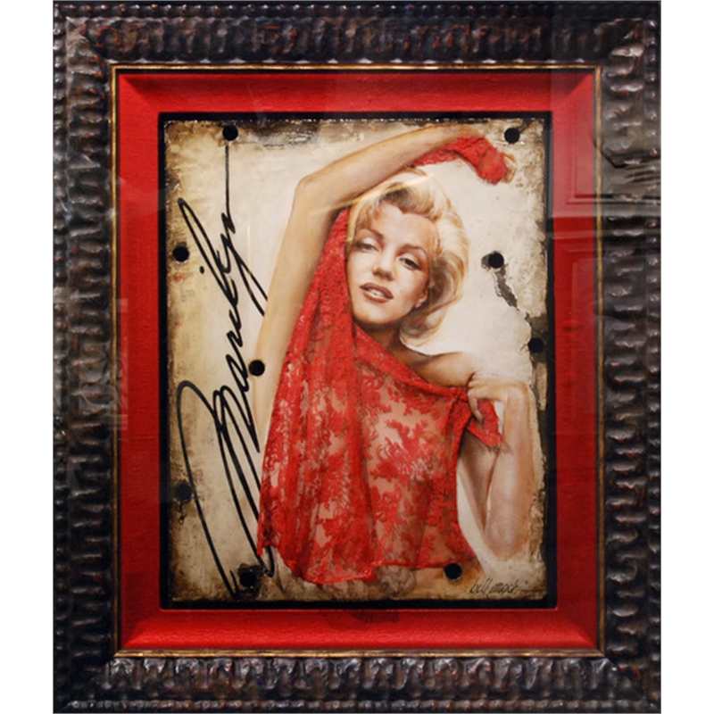 Marilyn Red Veil, 2018