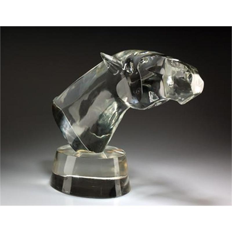 LARGE HORSE HEAD by LOREDANO ROSIN