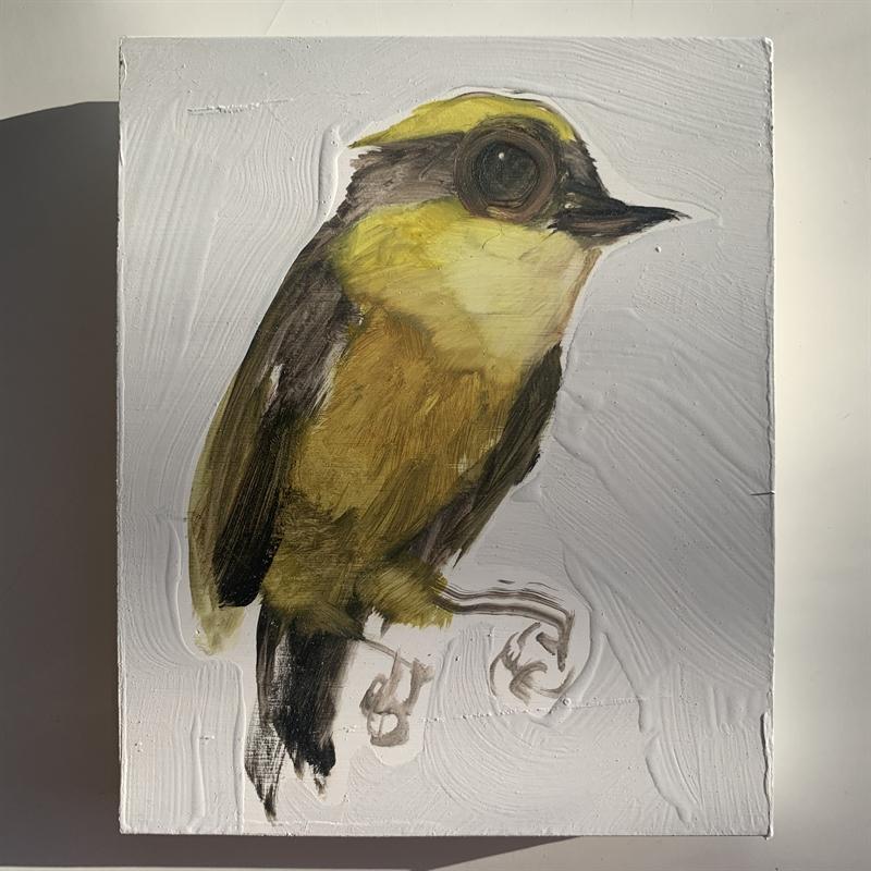 Medium Bird Block, 2020