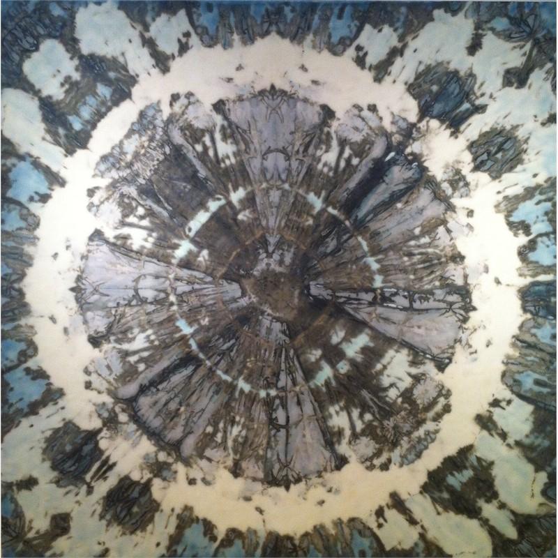 Blue Mandala #2, 2013