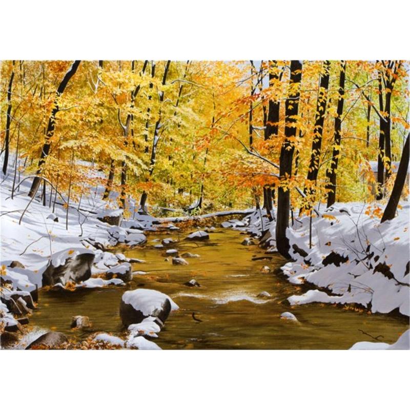October Snowfall (1/25)