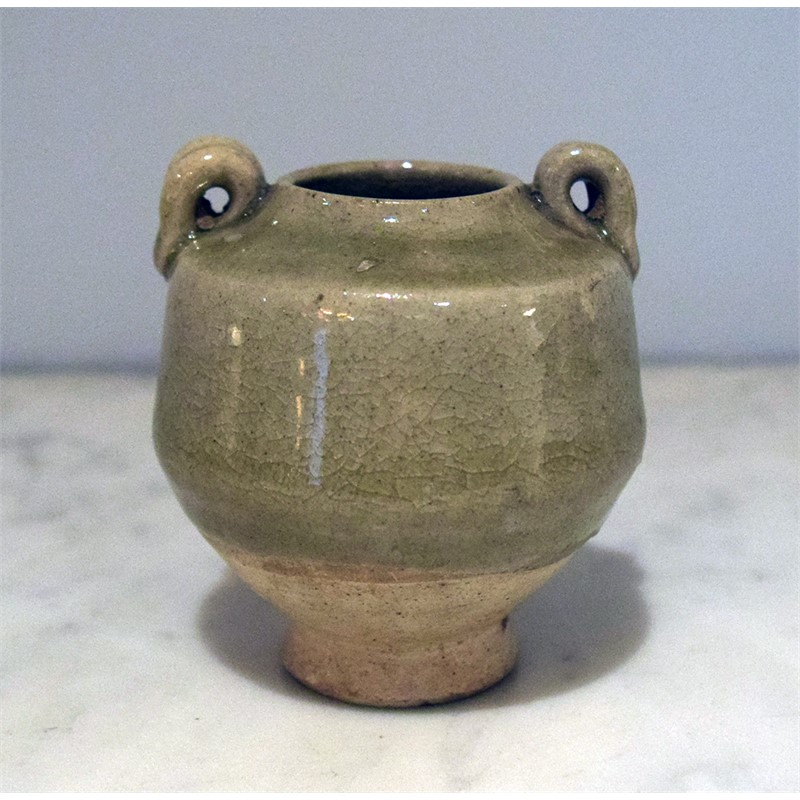SMALL CELADON JAR, Northern Song Dynasty (960-1126_