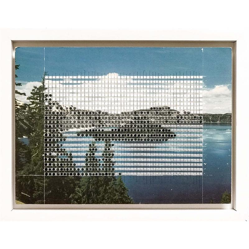 Borrowed Landscapes Study No. 90 Oregon, Crater Lake , 2019