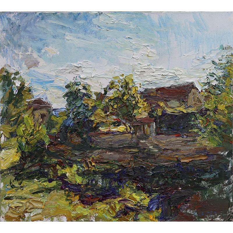 French Landscape, Burgundy