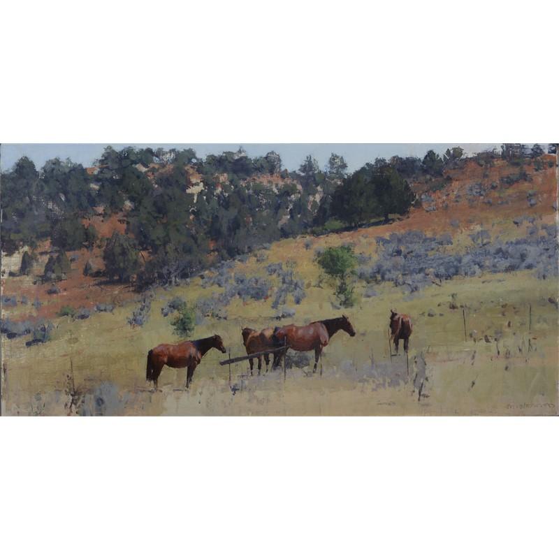 Four Summer Horses #2, 2019