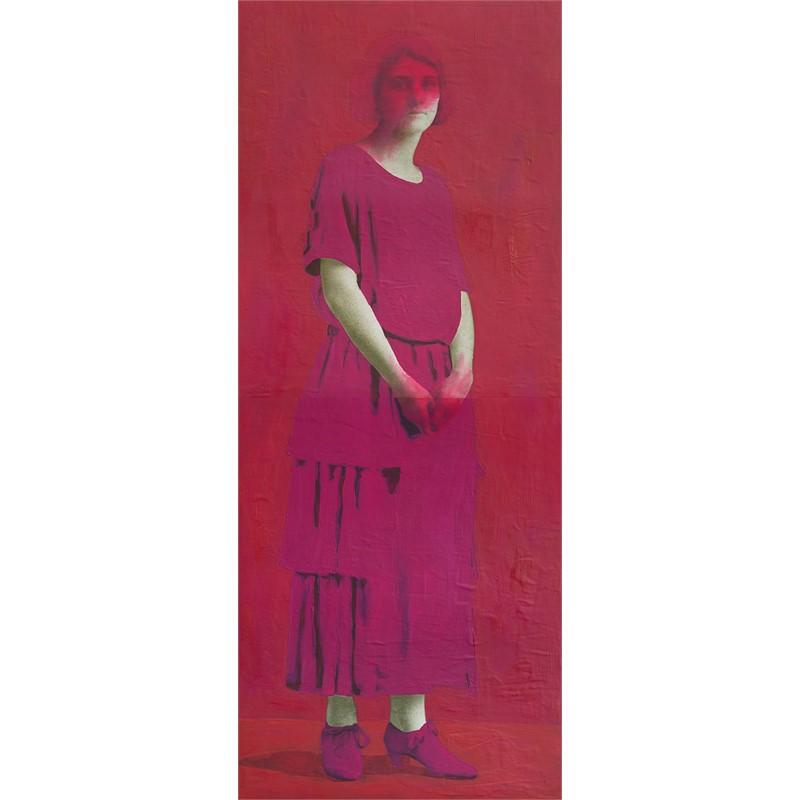 Untitled (Magenta Woman)