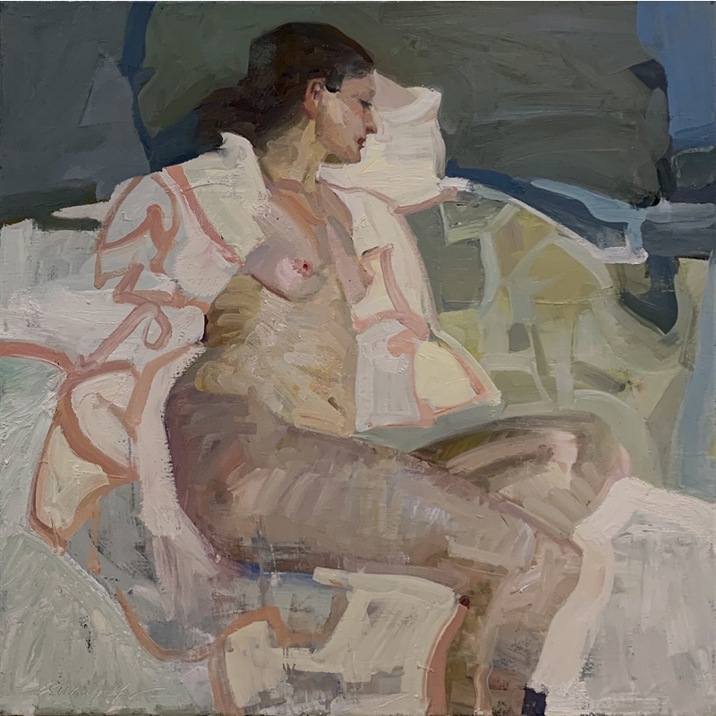 Seated Figure Abstraction