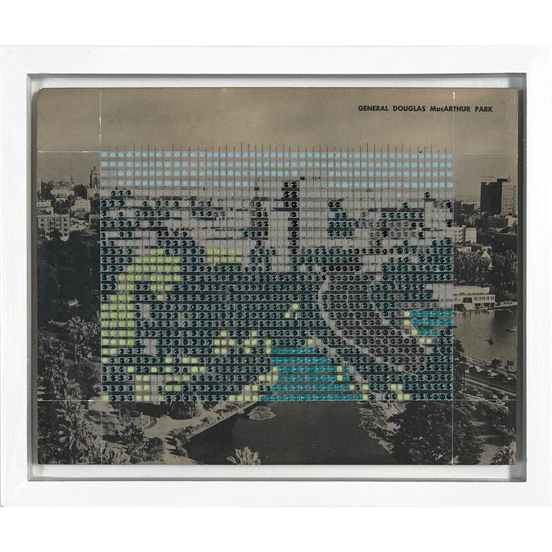 Borrowed Landscapes Study No . 124 /California, Los Angeles MacArthur Park, 2020
