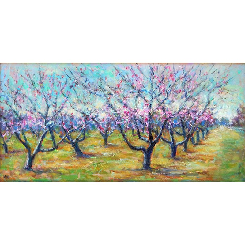 Dancing Peach Trees