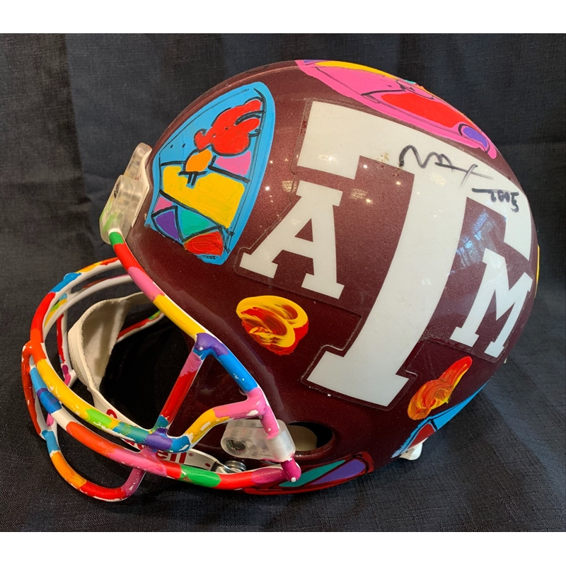 HELMET TEXAS A&M, 2020