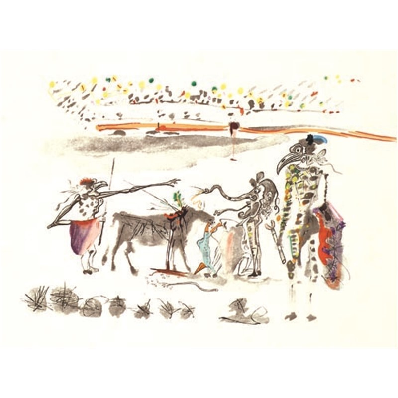 The Parrots from the Tauromachie Suite, 1966-67