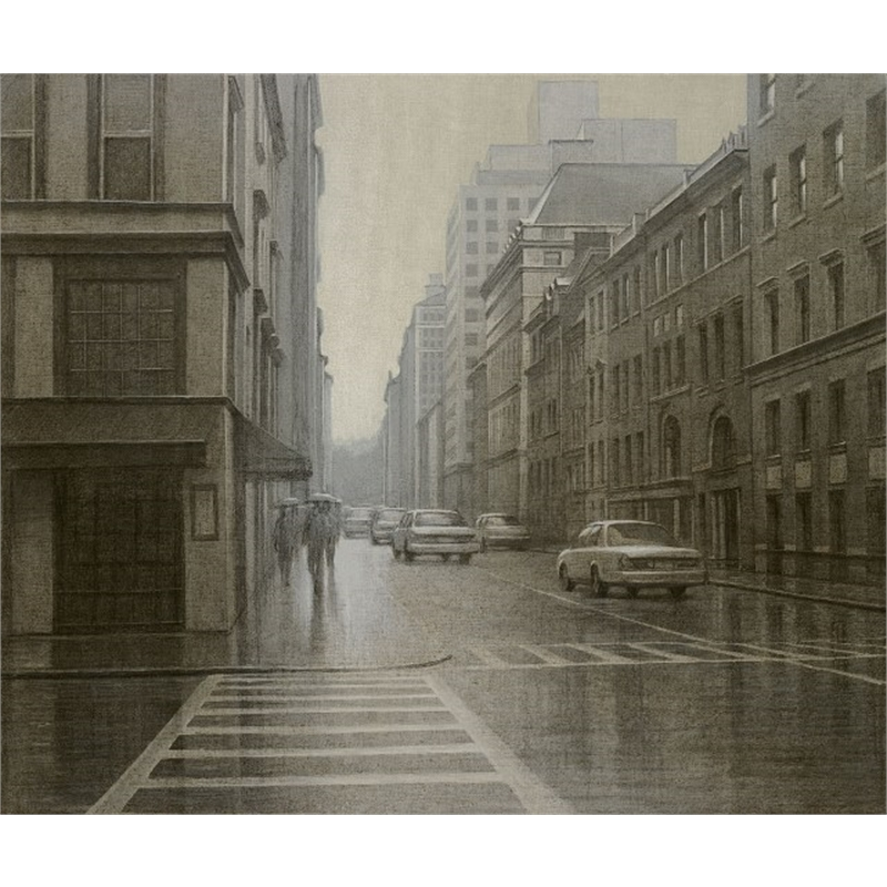 A Misty Day- Manhattan