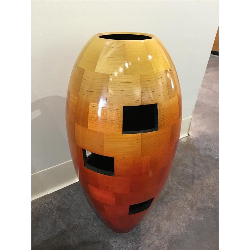 Windows Vase (Orange)