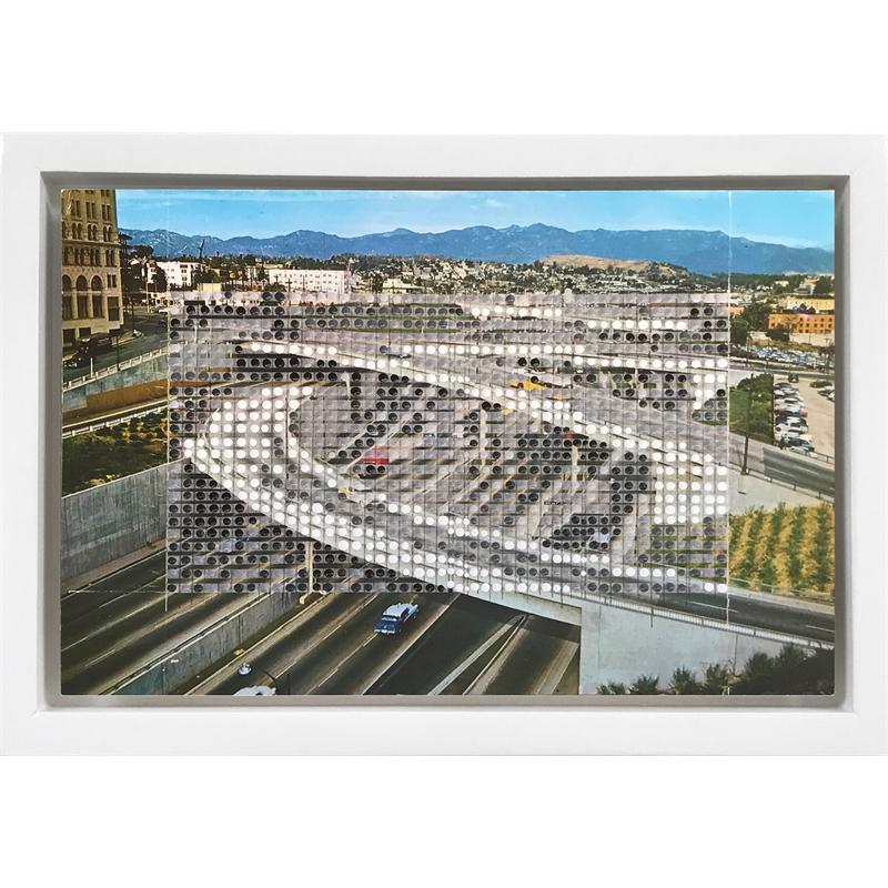 Borrowed Landscapes Study No.118 /California, Los Angeles Harbor Freeway, 2017