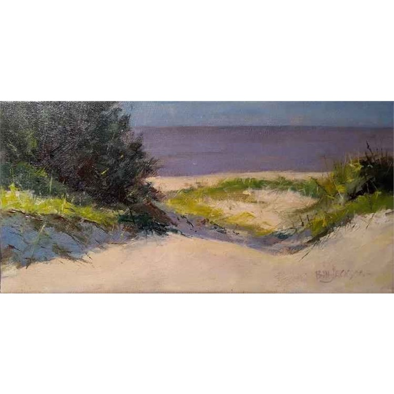 View to Ocracoke (study)