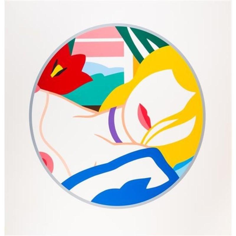 Blonde Vivienne by Tom Wesselmann (1931 - 2004)