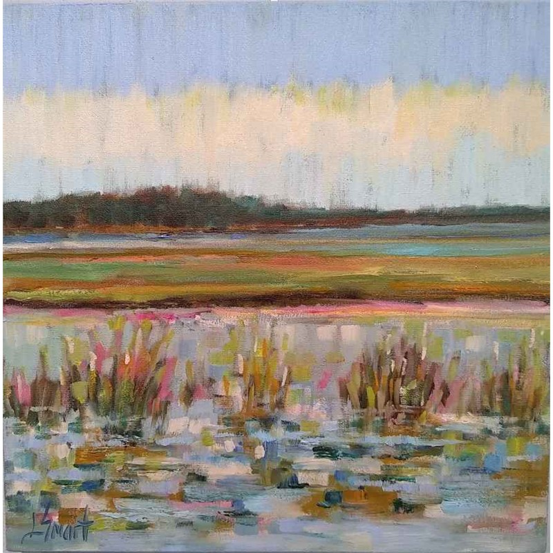 Glistening Marsh Water