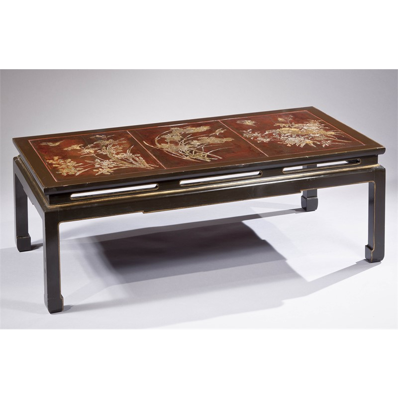 COROMANDEL LACQUER LOW TABLE, Chinese, 18th century