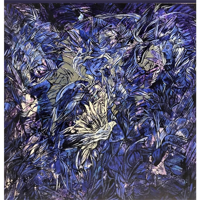 Blue Girl by Fredy Villamil