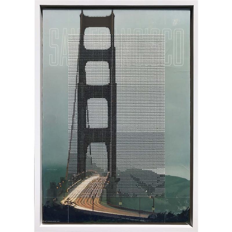 Golden Gate Bridge 1960s, San Francisco CA / Borrowed Landscape No. 12, 2018