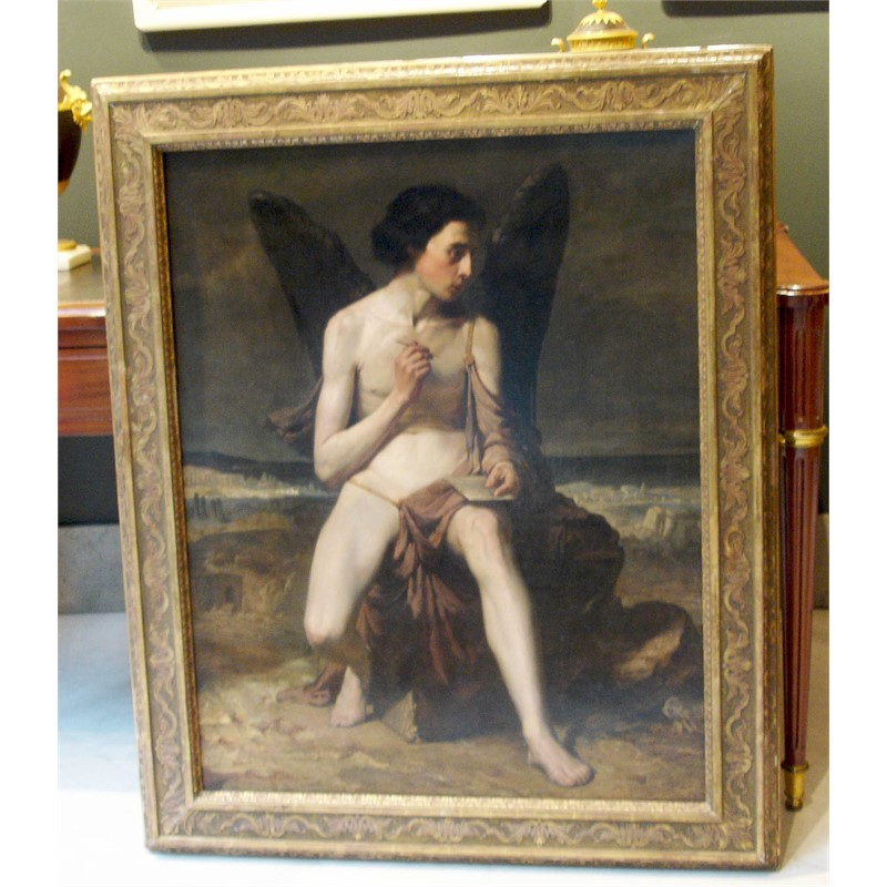 PORTRAIT OF ICARUS, French, circa 1860