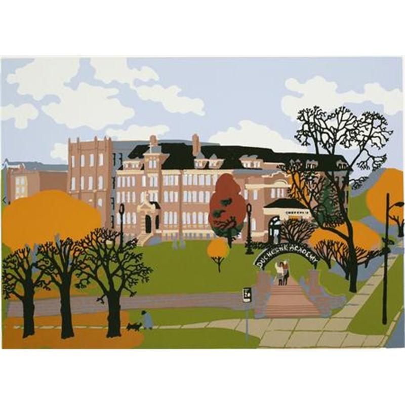 Duchesne Academy Fall Scene
