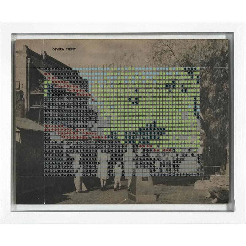 Borrowed Landscapes Study No .127 /California, Los Angeles, Olvera Street, 2020