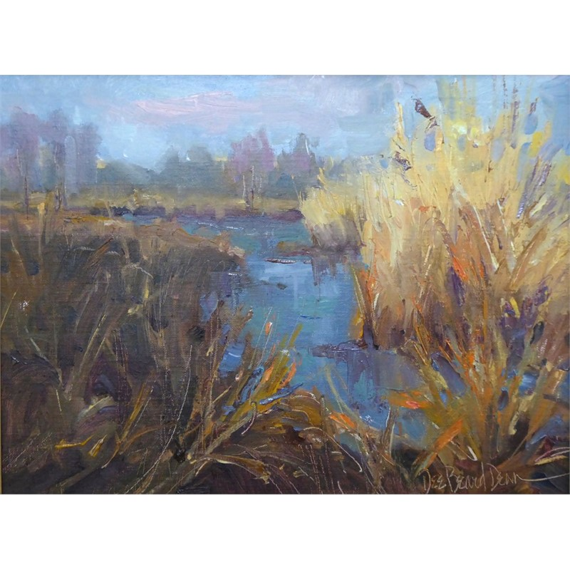 Autumn Grasses on the Marsh