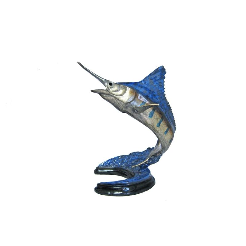 Mini Blue Marlin by Chris Barela