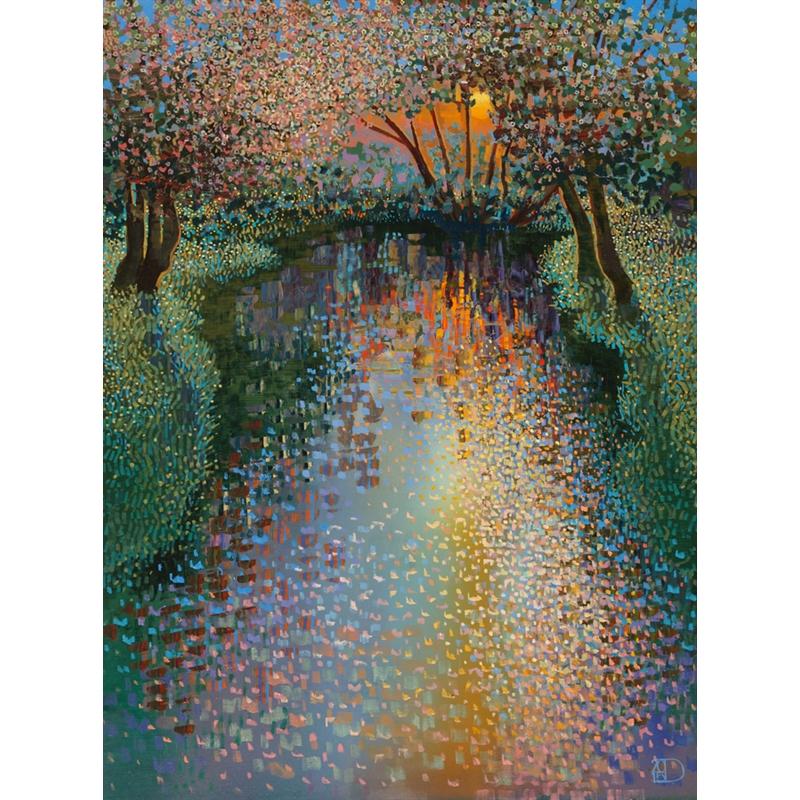 Sunset Reflections by Ton Dubbeldam