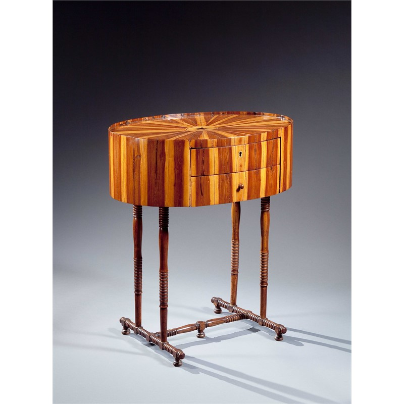 CONTINENTAL COCUSWOOD TABLE, Continental, 19th century
