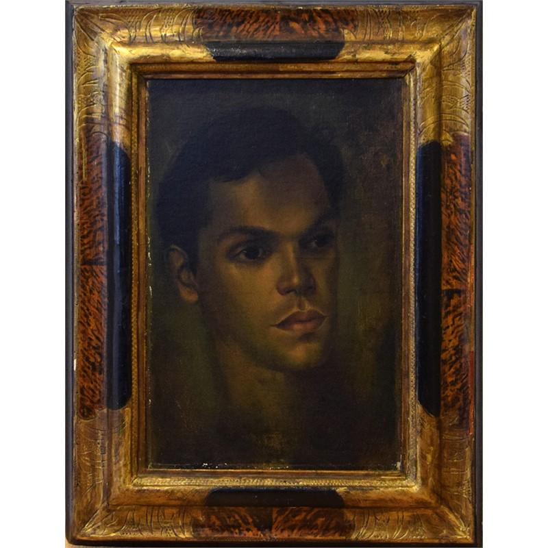 PORTRAIT OF EDULJI DINSHAW, Possibly 1946
