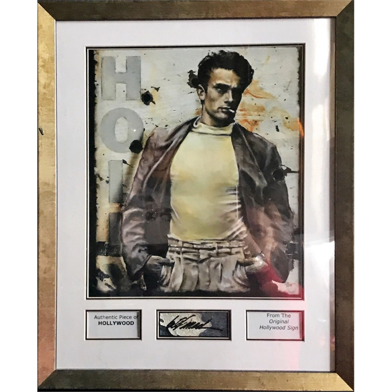 James Dean Hollywood Sign Name Plate (15/295)