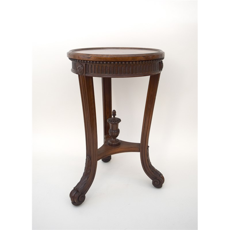GEORGE III MAHOGANY PLANT STAND, English, 18th century