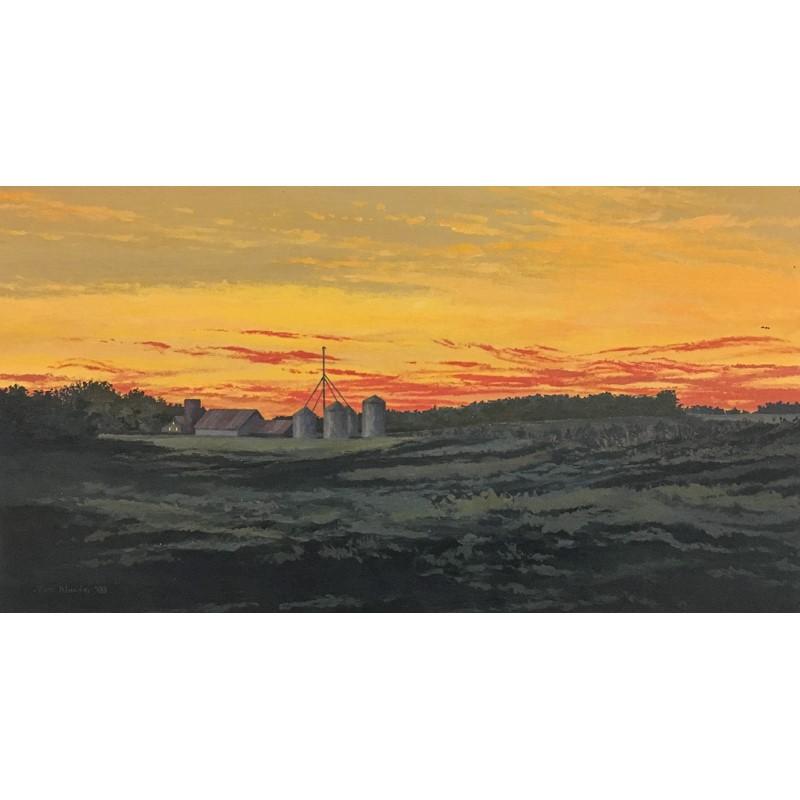 Red Sunset #2, 2003