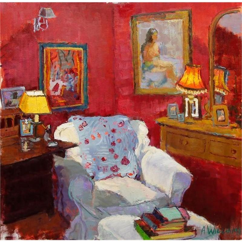 Interior Red Room