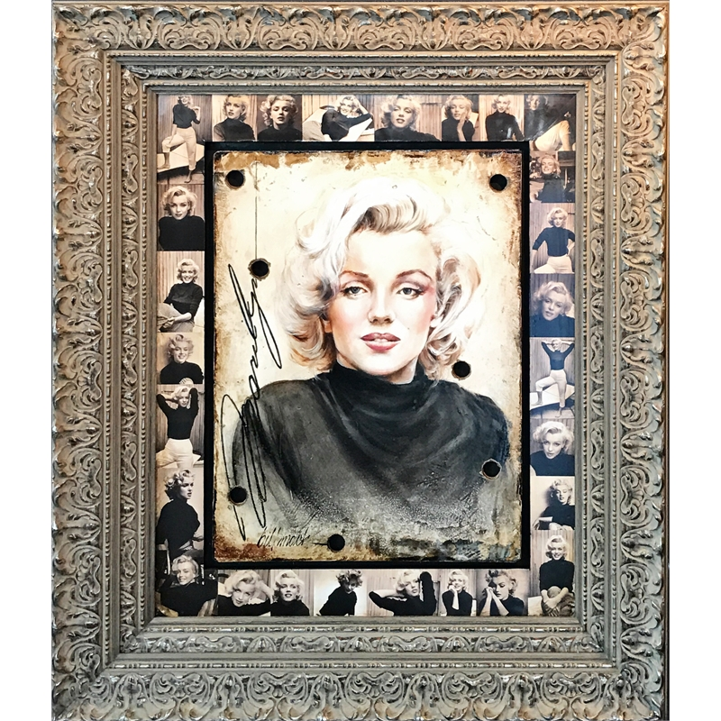 Marilyn Black Turtleneck
