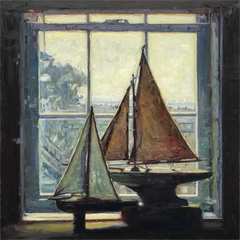 Boats in the Window