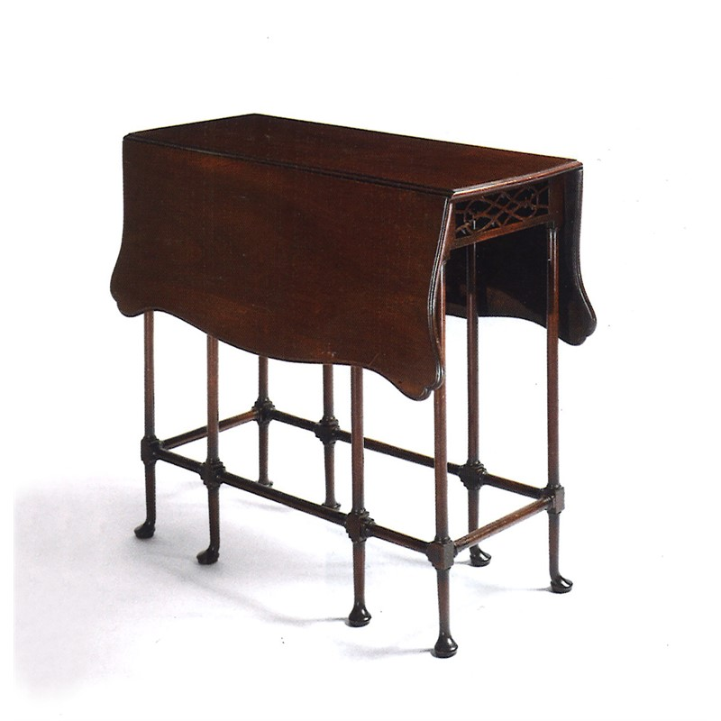ENGLISH MAHOGANY SPIDER LEG TABLE, English, circa 1770